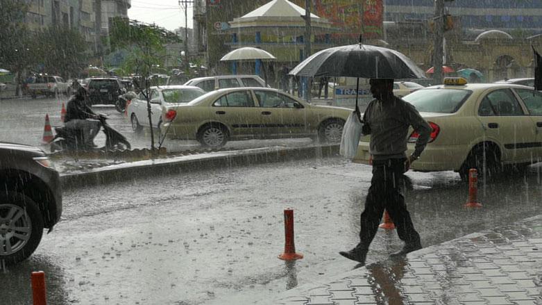 کەشناسی: باران دەبارێت