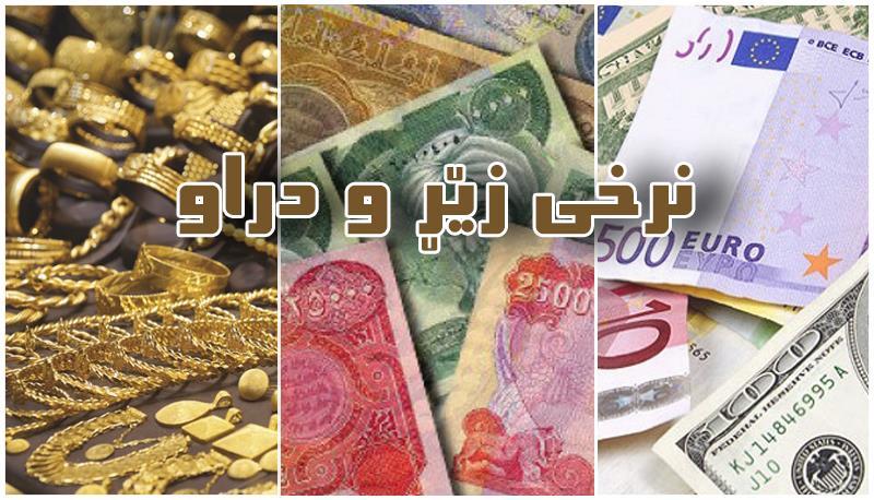 نرخی زێڕ و دراو له بازاڕهكانی ههرێمی كوردستان