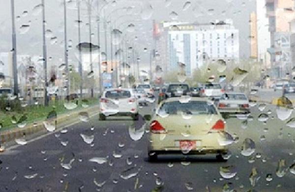 لهم ناوچانه باران دهبارێت