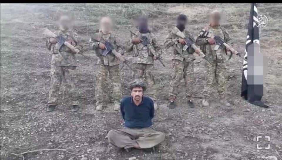 داعش ڤیدیۆی گولـلەبارانکردنی شوانێكی كوردی بڵاوكردهوه