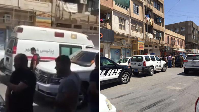 پۆلیسی ههولێر: تهرمێك له شهقامی پزیشكان دۆزرایهوه
