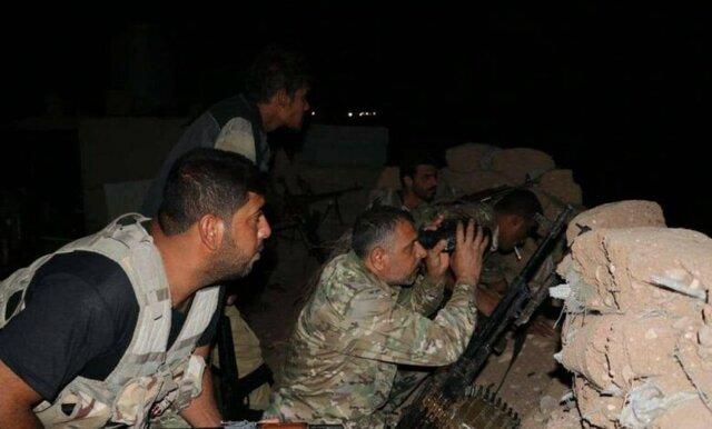 داعش لە باشووری کەرکووک هێرشی کردە سەر حەشدی شەعبی