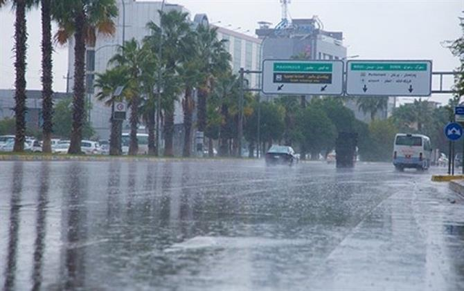 شەپۆلێكی تاوە باران و هەورە بروسكە هەرێمی كوردستان دەگرێتەوە