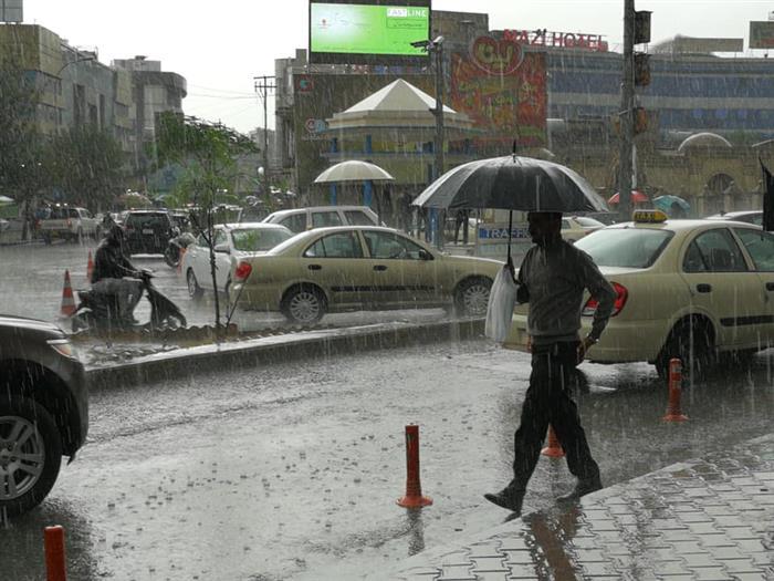 سبەینێ لەم ناوچانەی هەرێم باران دەبارێت