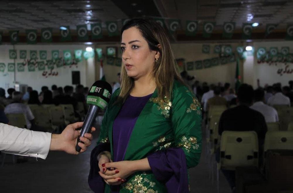 دیلان غەفور لە بری ئاڵا تاڵەبانی وەك كاندیدی هاوپەیمانی كوردستان ناسێندرا