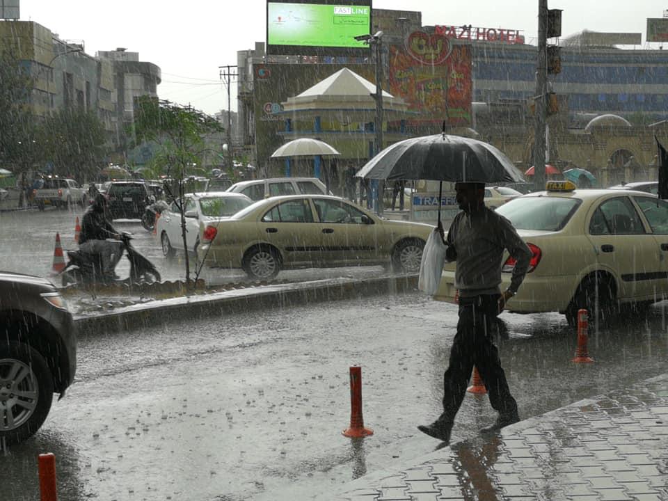 شهپۆلێكی باران بارین ڕوودهكاته ههرێم