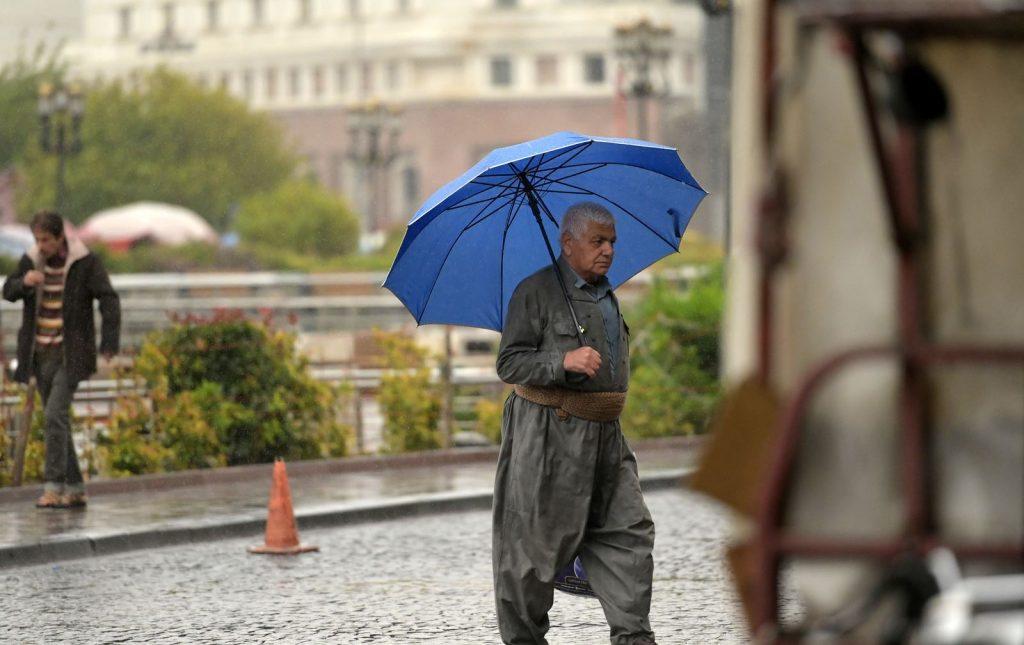 وادەی یەکەم شەپۆلی بارانبارین لەهەرێم راگەیەنرا